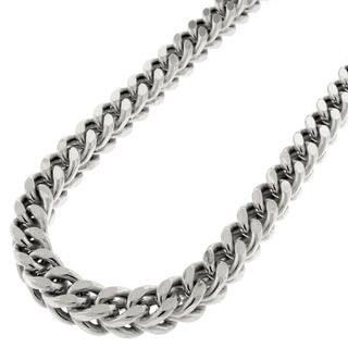 Fremada Italian Rhodium Plated Sterling Silver Men's 5.50-mm Rope Chain Necklace (18 - 36 inches) | Overstock.com Shopping - The Best Deals on Sterling Silver Necklaces