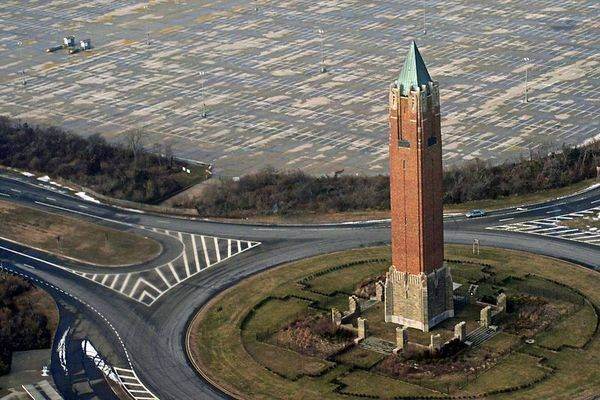 The Jones Beach Water Tower... thats what that building is