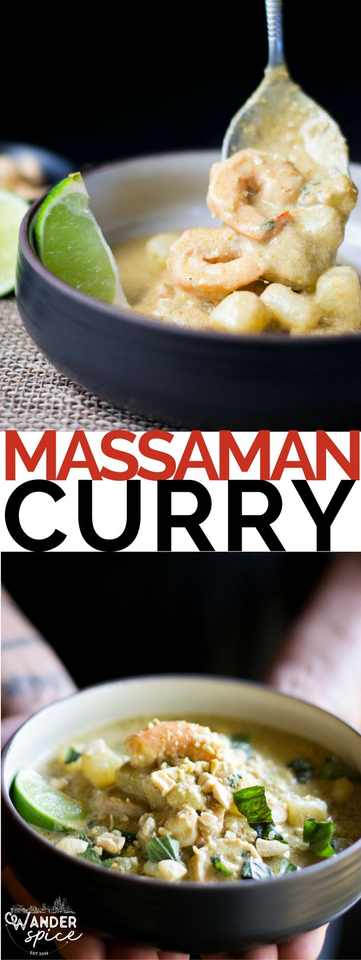 Massaman Curry with homemade massaman paste? Yep, you can do it! All you need is a good blender.