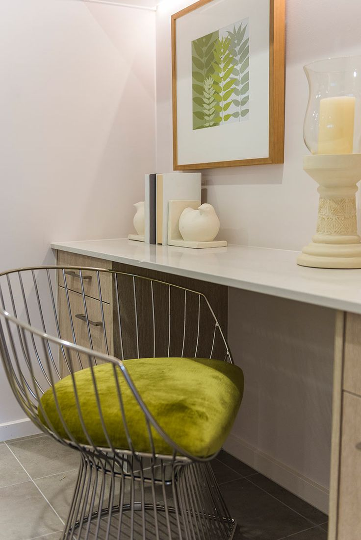 This statement green #chair can be found at Ausbuild's Denham display home.