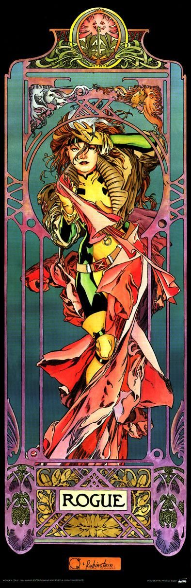 I have this poster and the companion one of Gambit. They hang in my comic book room!