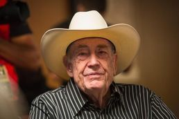 Could Doyle Brunson win the main event again?  At 79?  Texas Dolly's got one of the largest chip stacks heading into Day 3.  Fingers crossed for the Godfather of Poker.  www.highrollerradio.net