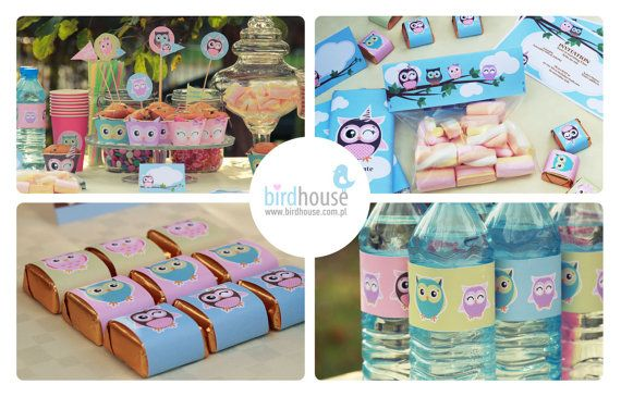 Owl Birthday 1st Birthday Owl Party Decorations by BirdhouseStore