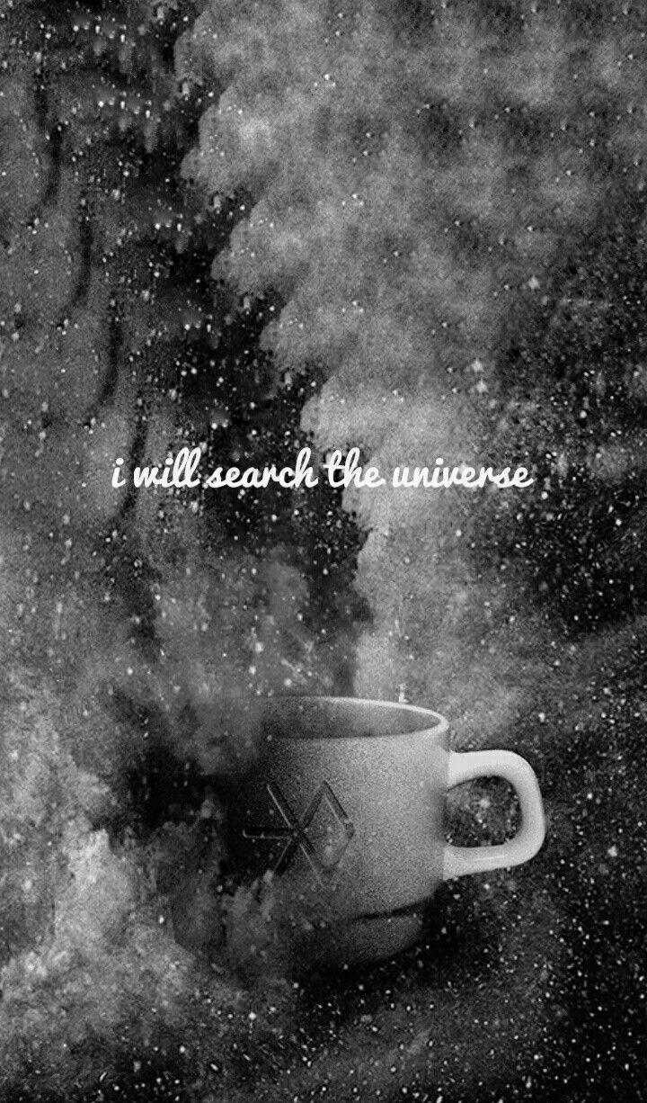 exo cafe universe wallpaper