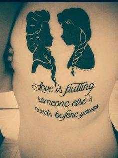1000  ideas about Frozen Tattoo on Pinterest   Disney Tattoos Tattoos ...