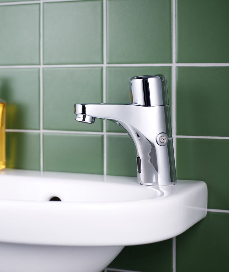 Tvättställsblandare Nautic - sensorstyrd blandare som är enkel att rengöra.
