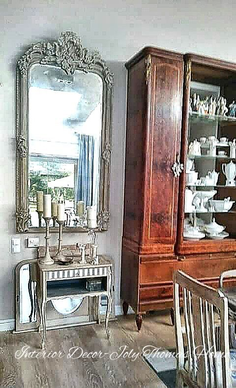 Art painting french mirror Joly Thomas Home