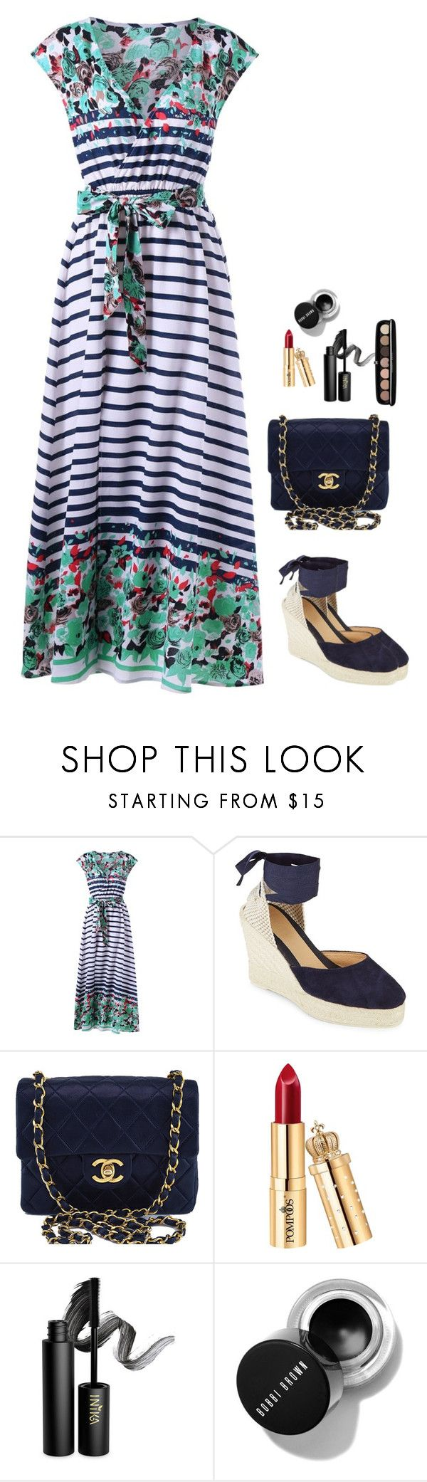 """""""Summer time"""" by monika1555 on Polyvore featuring Manebí, Chanel, INIKA and Marc Jacobs"""