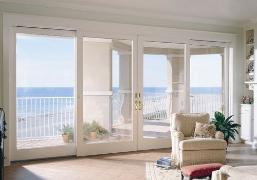 Gorgeous Sliding Glass French Patio Doors by @Andersen Windows .. Dreaming of a summer vacation already!
