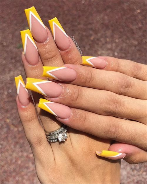 60 The Simple Acrylic Square Nails Designs Have to Try In Summer
