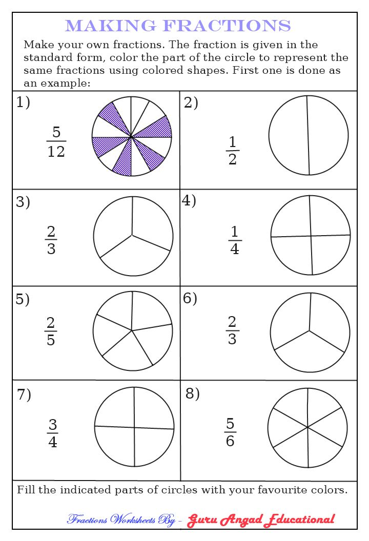 Shaded Fractions Worksheet Versaldobip – Shading Fractions Worksheet