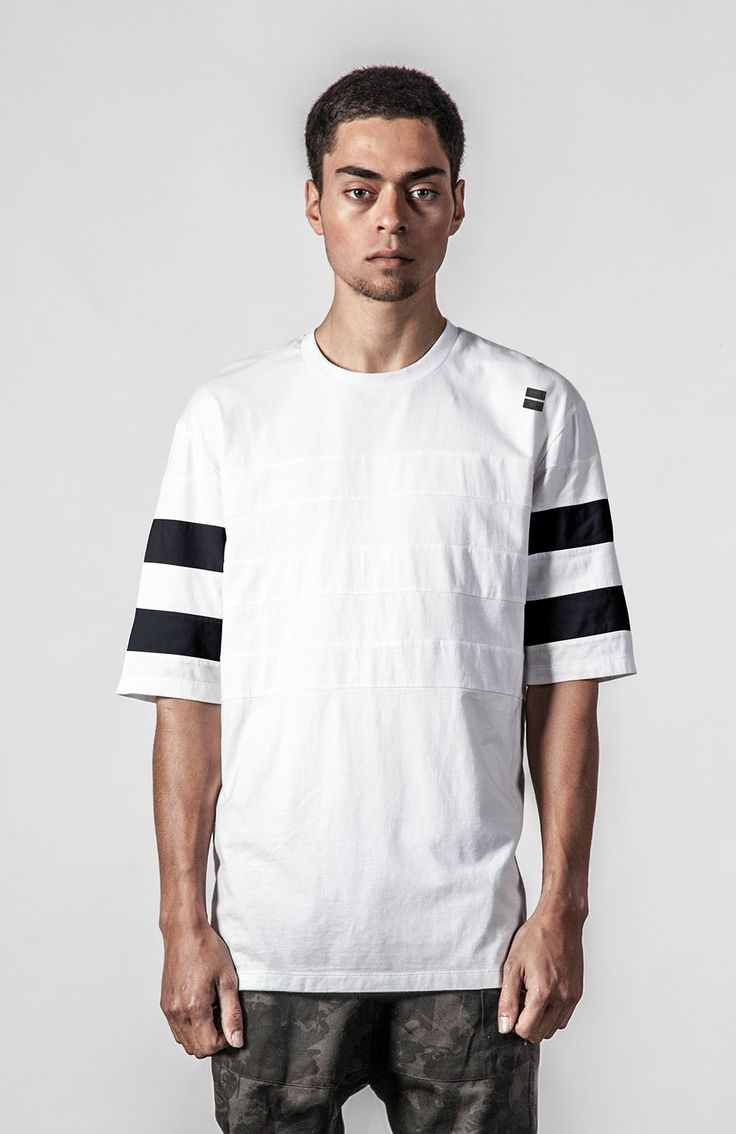 Thing Thing Nico Tee in White, available in store & online at Needles & Threads Streetwear Store for $69nzd.  Shop Online Here: http://www.needlesandthreads.co.nz/estore/style/tt0035.aspx?c=2