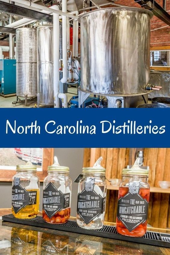 North Carolina has a long history of distilling. Today, there are over 20 legal North Carolina distilleries where visitors can see production and try the products. Here's a look at 4 of them.
