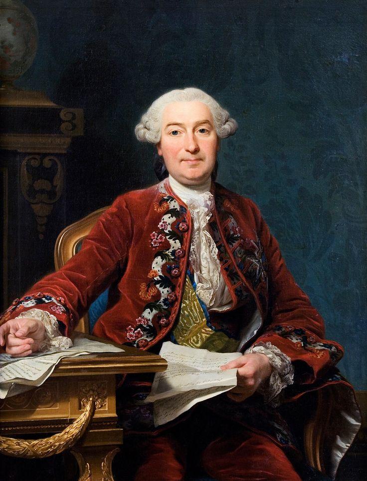 ALEXANDER ROSLIN (1718-1793). Pintor sueco, especializado en retratos. Desde 1750 en adelante trabajó principalmente París, pero hubo periodos en que trabajó en otros lugares, llamado por las cortes de Estocolmo, San Petersburgo, Varsovia y Viena.