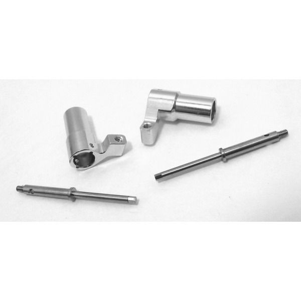 Aluminum Rear Axle Lock-Out Kit, Losi Micro Crawler