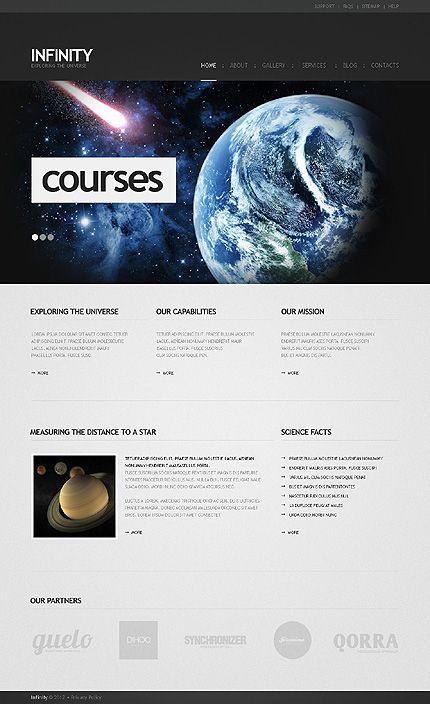 Infinity Astronomy WordPress Themes by Mira