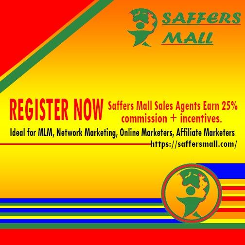 Sales Agents register at https://saffersmall.com - online advertising service for your work from home business opportunity - to earn commission and incentives by selling ad space to entrepreneurs starting at $0,02 per ad for 30 days. See you soon!