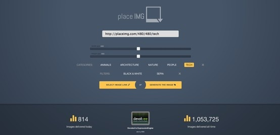 Do you want a placeholder image in your mockup? Here's the answer!