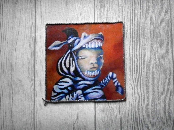 Print: Zebra kid von NorthernNightshades auf Etsy