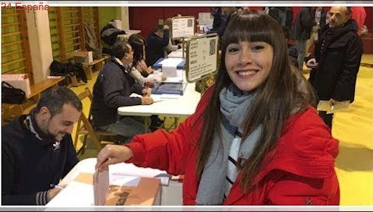 Aitana, Alfred y Nerea salen de la Academia de 'OT' para votar en las elecciones catalanas