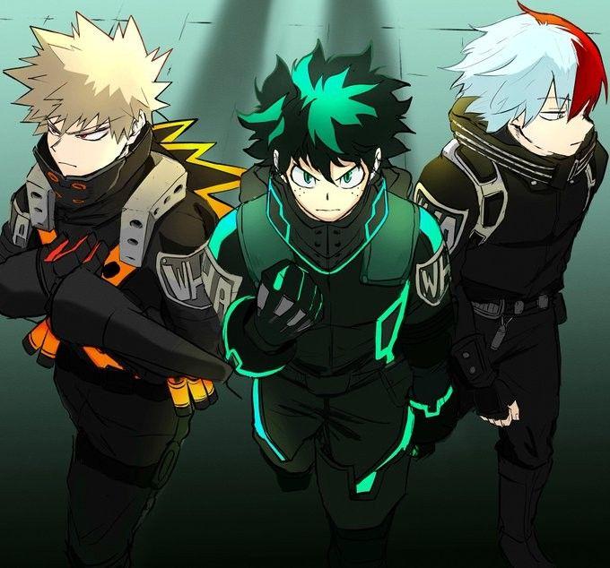 Pin By Cali On Boku No Hero Hero Cute Anime Character Anime Guys Cool anime heroes wallpaper