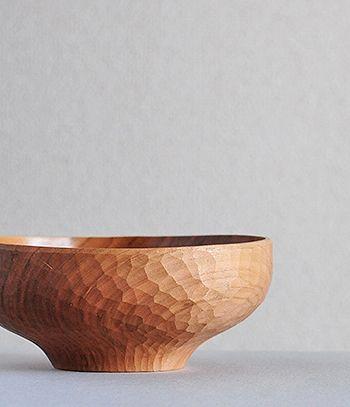 Wood Bowl, Soup Bowl Hiroyuki Watanabe Made in Japan