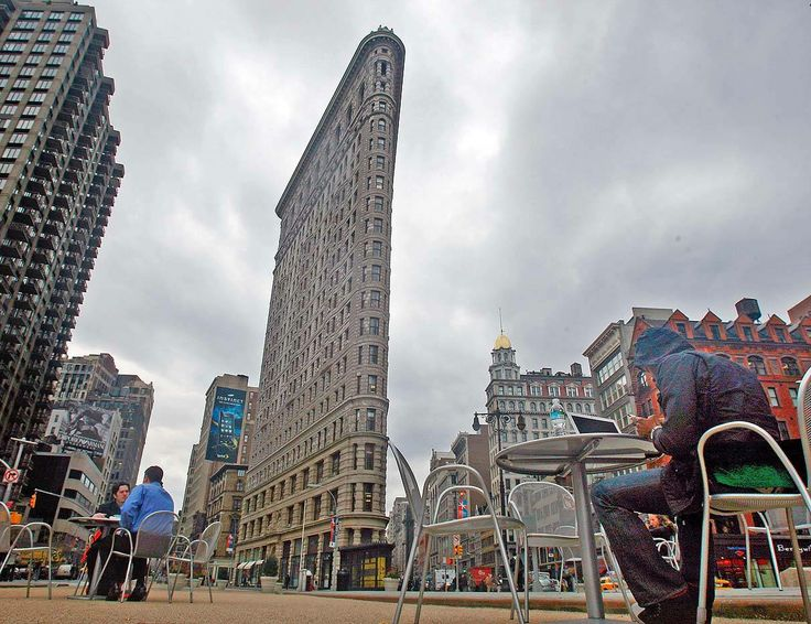 Flatiron Building #NYC #flywheelsports #nevercoast