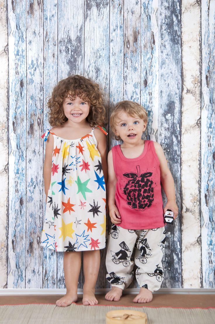 Παιδικά ρουχα από οργανικο βαμβακι για χαρούμενα παιδιά!! Nadadelazos www.heladoderretido.com