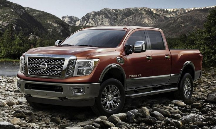 All-New, 2016 Nissan Titan XD Powers Up with V8 Turbodiesel http://www.autotribute.com/38398/new-2016-nissan-titan-xd-with-v8-turbo-diesel-engine/ #NissanTitan #Nissan #NissanTruck #Truck #Trucks #JapaneseTruck