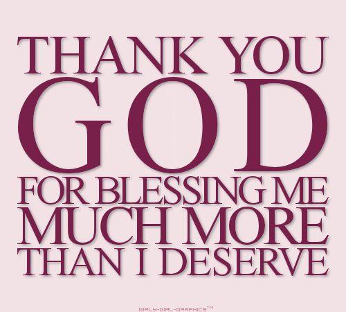 Thank U, God