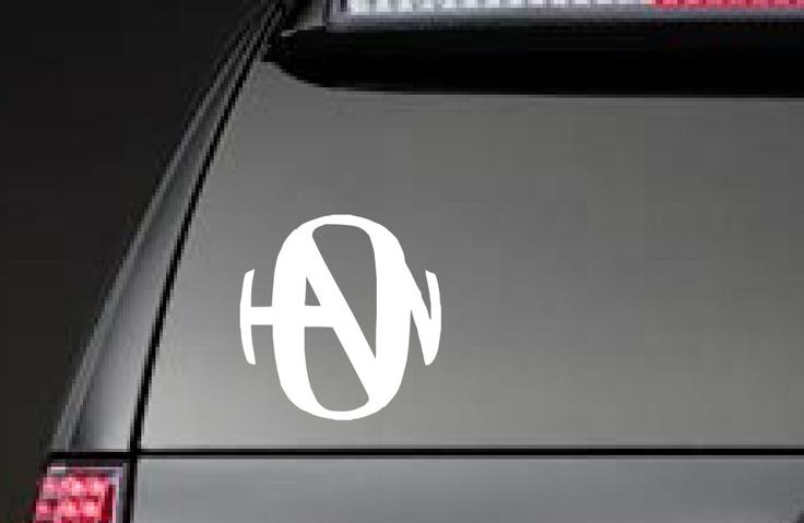 Hanson Decal for car, laptop, mirror - FREE SHIPPING. $4.00, via Etsy.