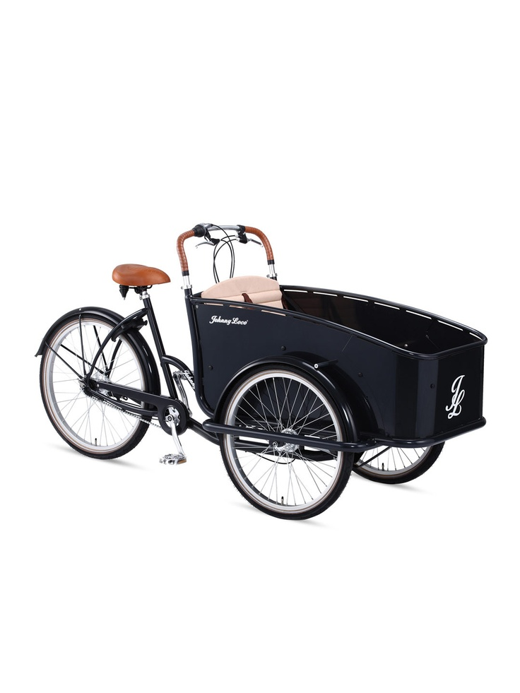 Dutch Delight Seven Speed Cargo Tricycle - Gilt Home