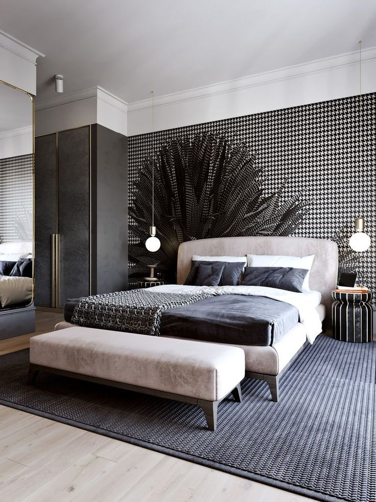 The Stylish Modern Bedroom Furniture Vintage Rustic And Mid Century Bedroom Furniture Master Bedroom Interior Design Master Bedroom Interior Stylish Bedroom
