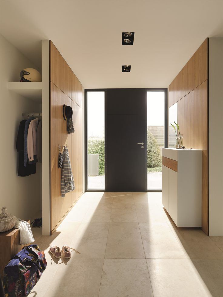 #Wooden hallway unit CUBUS PURE Cubus Pure Collection by @team7 | #design Sebastian Desch