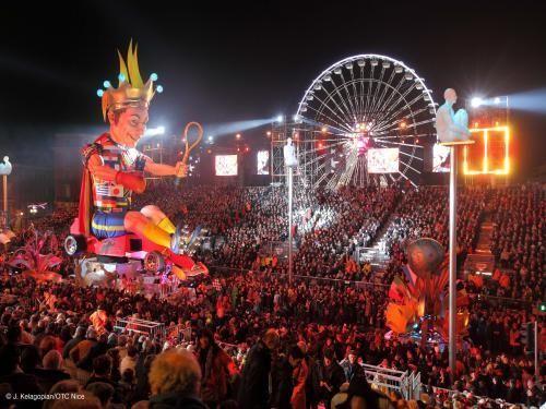 Le Carnaval de Nice - Évènement à Nice