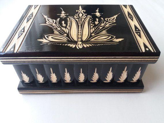 Nuovo Big, puzzle in legno nero enorme scatola, scatola segreta, scatola magica, stoccaggio portagioie, caso di legno, intagliati a mano bella scatola regalo indimenticabile per lui