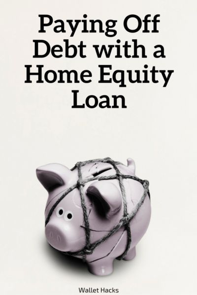 If you're struggling to pay off high interest debt, you may be able to use a home equity loan to your advantage. Learn how a low interest loan could be a valuable tool in fighting against debt. | debt fighting tips and tricks | how to pay off debt | tips to pay off debt | debt busting tips | paying off debt || Wallet Hacks