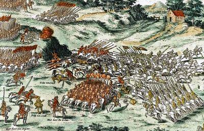 The Battle of Jarnac (13 March 1569)