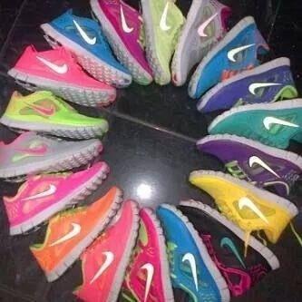 Zapatos Nike Free Run 3.0 Para Damas Y Caballeros