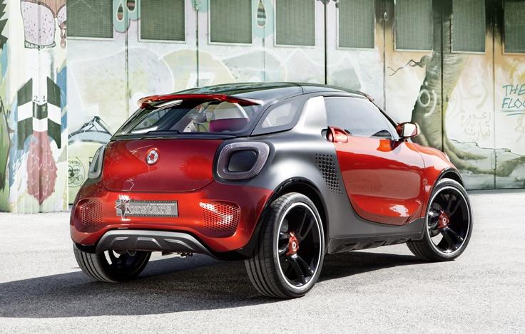 Mini Suv pentru oras by SMART - http://www.siteauto.ro/stiri/smart-forstars-concept-2013