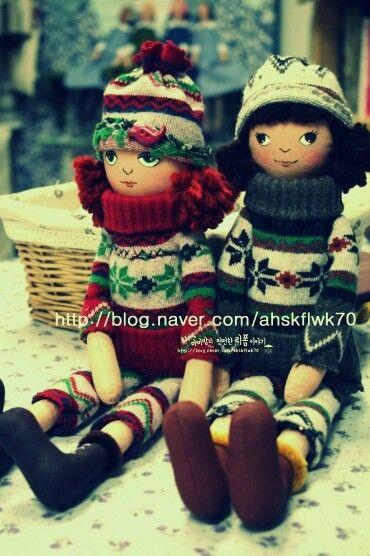 http://m.blog.naver.com/ahskflwk70/220216239748 지하벙커작업실 수제인형공방 수제인형이름: 겨울아이