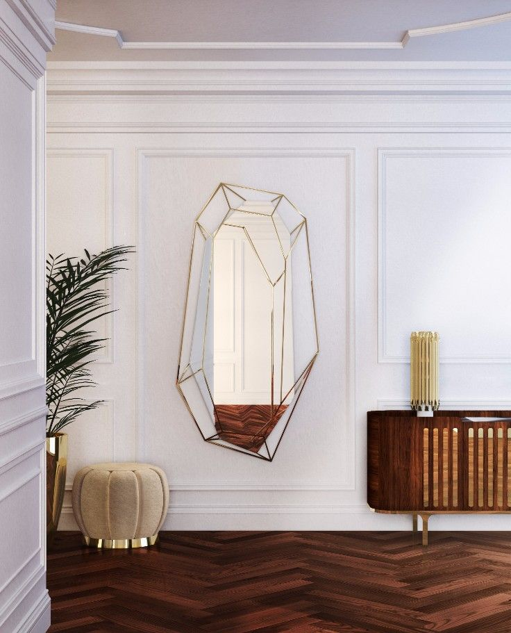 Find out why home decor is always Essential! Discover more retro mirror interior design details at http://essentialhome.eu/