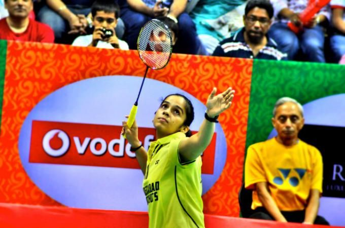 Saina Nehwal in an exclusive interview with tadpoles.in  Read: http://tadpoles.in/read/103/even-cricketers-now-love-badminton-saina-nehwal
