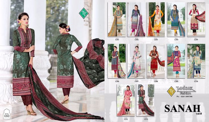 #TanishkFashion #SanahVol8  #GlaceSatinCotton #PartySuit this stylish #designer suits series rocking world wide. In this series this time we bring some more #Beautiful Dresses in #vol8 #CeremonialSuit #CottonSuit #SatinSuit #Dress #SalwarKameez #Suit Available here only...
