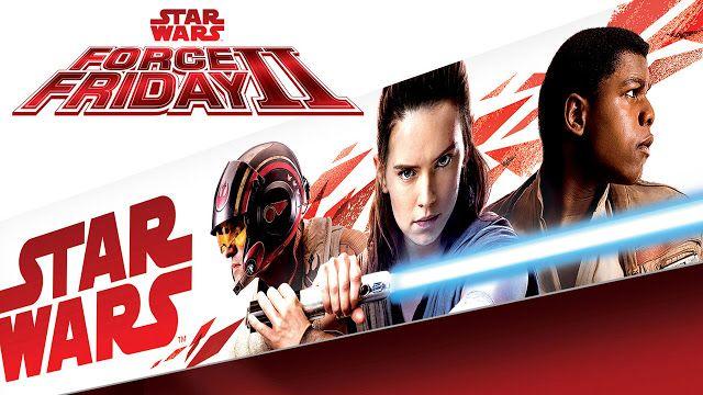 #StarWars #ForceFridayII se celebrará el 1 de Septiembre de 2017   En plena cuenta regresiva para el lanzamiento mundial de los productos inspirados en la nueva película de Lucasfilm STAR WARS: LOS ÚLTIMOS JEDI hoy se dio a conocer el nuevo envoltorio que revela un trío de héroes: Poe Rey y Finn  Disney y Lucasfilm anunciaron hoy Star Wars Force Friday II un evento global de fans que celebra el lanzamiento de todos los nuevos productos inspirados en la muy esperada película STAR WARS: LOS…