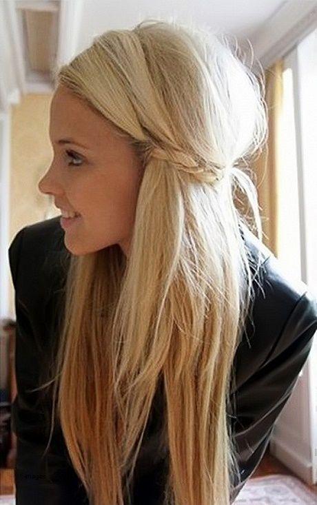 Einfache Schnelle Frisuren Für Lange Dicke Haare Neueste Frisuren