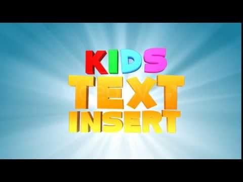 Cinema 4D | Kids Text