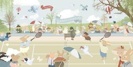 Little Hands Wallpaper - Tennis