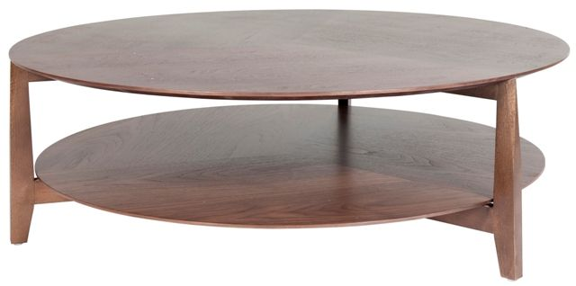 Vittoria Round Shelf Table 1100 D, Walnut Veneer G West   Naomi Furniture  Ideas   Pinterest   Round Shelf, Walnut Veneer And Shelves