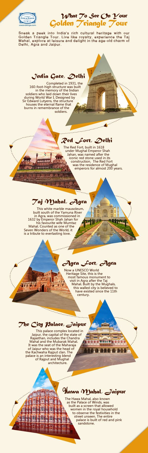 Don't miss your chance to visit a regal India with our Golden Triangle Tour.